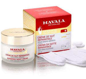 MAVALA - Repairing Night Cream for Hands - Regenerujący krem do rąk na noc (75ml)