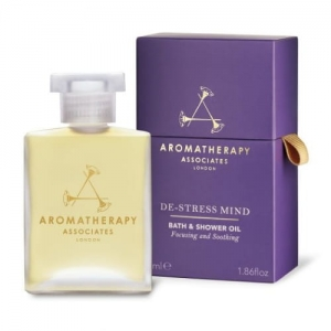 AROMATHERAPY ASSOCIATES - De-Stress Mind Bath and Shower Oil - Odstresowujący olejek do kąpieli i pod prysznic 55ml