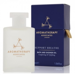 AROMATHERAPY ASSOCIATES - Support Breathe Bath and Shower Oil - Ułatwiający oddychanie olejek do kąpieli  55ml